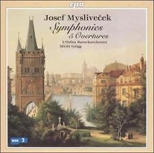 Josef Myslivecek: Symphonies; 5 Overtures, New Music