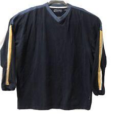 Men's XL Point Zero Slip On Blue Long Sleeve Sports Shirt