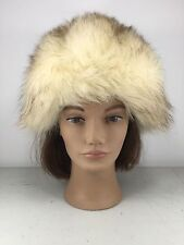 f8f7535d2ea0d Gorgeous Splendid 22 inches vintage NORWEGIAN Fox women men real fur hat G06