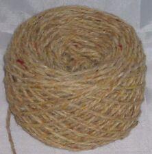 1000g 1kg Aran Sandy Cream Tweed 100% Pure Wool British Breed knitting EFW 602