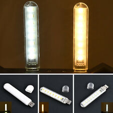 Useful USB LED Lamp 8 Leds Mobile Power Lighting Computer Night Light Good