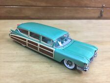 Hot Wheels 100% '59 Cadillac Eldorado Surf Woody Green w/RR Real Riders Loose