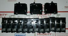 Lot of 15 Siemens I-T-E B120 120/240Volt Bolt-On Circuit Breakers