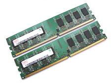 Hynix HYMP125U64CP8-S6 4GB (2x2GB Kit) PC2-6400U-666 2Rx8 DDR2 RAM Memory 800MHz