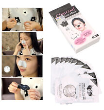 HOT Blackhead Strong Cleaner Moderate Bamboo Charcoal Nose Mask Strips Cleansing