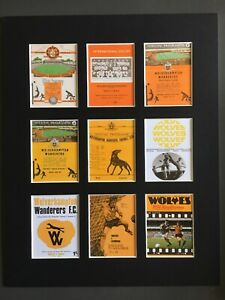 """Wolverhampton Wanderers FC Football Vintage Programme Picture 14"""" By 11"""""""