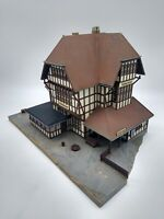 Kibri Large Half-Timbered Station - OO/HO - Good Condition (see description)
