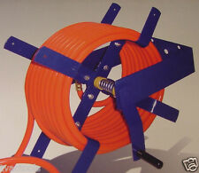 100 Foot Wall Mount AIR HOSE REEL for 3/8 and 1/2 HOSE all steel tool new O