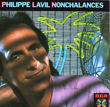 CD PHILIPPE LAVIL NONCHALANCES + BEST OF 18 TITRES MADE IN GERMANY 1986 RARE !!!