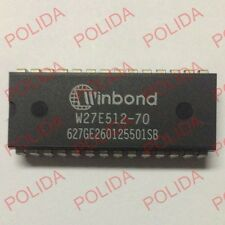 10PCS EEPROM IC WINBOND DIP-28 W27E512-70