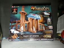Tower Of Omens w/ Clear Tygra Thundercats Figure Playset New Sealed Bandai 2011