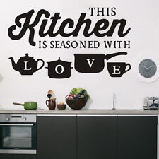 Vinyl Kitchen Wall Decal Rules Room Decor Art Quote Stickers Mural DIY Removable