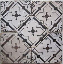 riggiole mattonelle antiche maioliche pannello 40x40 vintage pezzi unici   c69