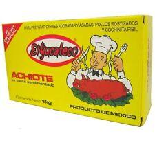 El Yucateco Achiote Paste - Annatto Seasoning 1kg - CHILLIESontheWEB