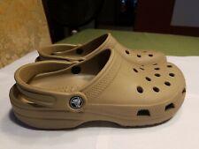 a6ddd9846 Crocs Classic Clog Adult Slip On Slingback Brown Unisex Mens 7 Womens 9