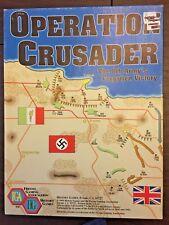 OPERATION CRUSADER: 8th Army v. Afrika Korps wargame, Fresno Gaming Association