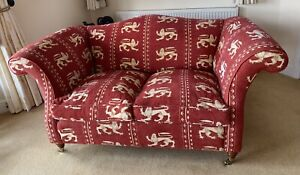 Andrew Martin Fabric Two Seater Sofa