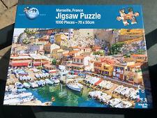 Puzzle World MARSEILLE FRANCE 1000 pc Jigsaw Puzzle.