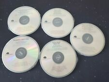 6x Lot of read along story Audio CDs Kids Books Curious George Rotten Raph Mudge