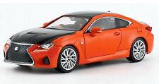 Lexus RC F (2014) Carbon Exterior Package lava orange CS 1:43 Kyosho 03653P
