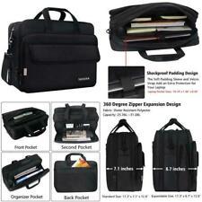 17 Inch Laptop Bag, Large Briefcase For Men Women, Expandable Business Attache,