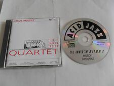 JAMES TAYLOR QUARTET - Mission Impossible (CD 1993) UK Pressing