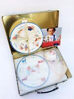 VILLEROY & BOCH Family Bears Child 3 Pc. Dinner Set Porcelain Plate Bowl Mug NEW