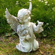 Engel Figur Dekofigur wetterfest Grabdeko Grabschmuck Grabengel Dekoengel groß