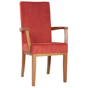 Seniorenstuhl, m. Sitzhöhe 51 cm, sofort lieferbar, Gestell Buche, exz. Qualität