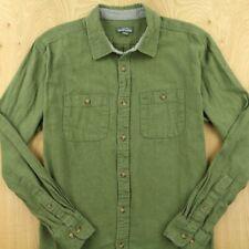 EDDIE BAUER cotton camp shirt size XL / extra large work brushed twill