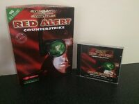 Command & Conquer Red Alert Counterstrike  - PC Big Box Game - Complete C&C