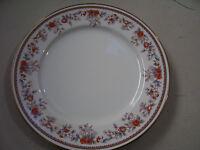 """Vintage Rare Lenox china Bouquet Collection Porcelain Russet Blossoms 8"""" Plates"""