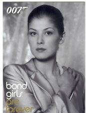 James Bond Quotable Bond Girls Are Forever Chase Card BG24