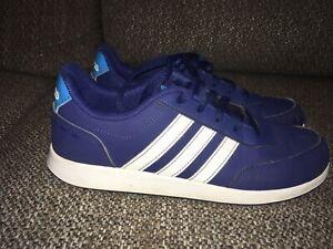 ADIDAS, Blue , Boys Trainers, UK size 5