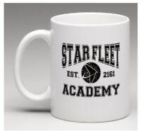 Star Trek Star Fleet Academy Coffee Tea White Porcelain Mug Sci-fi Gifts Novelty