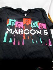 2013 Maroon 5 Tour Adam Levine 2-sided T-Shirt Music Rock Pop Concert Size Small