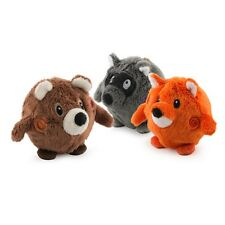 Ancol Dog Puppy Chaser Bouncing WOODLAND FRIEND Ball Toy Game (Assorted Colours)