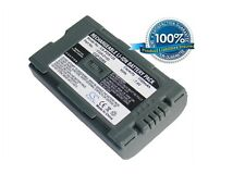 7.4V battery for Panasonic NV-DS11ENC, NV-GS11, AJ-PCS060G(Portable Hard Disk Un