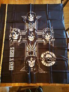 GUNS N ROSES vintage 1988  fabric cloth poster tapestry banner flag