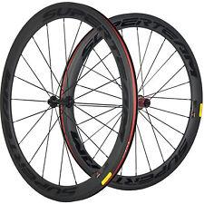 SUPERTEAM Clycling Bike Carbon Wheelset Clincher Road Bicycle 50mm Carbon Wheels