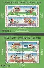 Timbres Sports Tennis Roumanie BF196A/B ** lot 9375