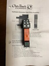 Outback Power, Generator Start Relay, Flexware, 16A, 2 wire, OBR-16-DIN
