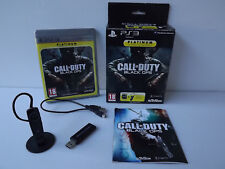Box Call of duty Black ops + Headset wireless + usb cable - PS3