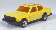 "Vintage Fiat 131 Sedan 2.75"" Die Cast Scale Model Pull Back And Go Yellow"