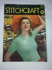Vintage - Stitchcraft Magazine - May 1941 Cost 8d - complete with transfer
