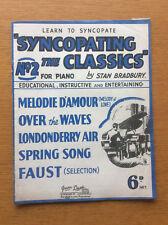Syncopating The Classics No 2, Vintage Piano Sheet Music, by Stan Bradbury