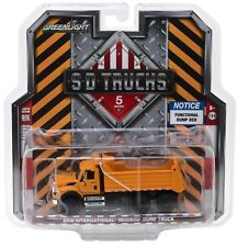 1:64 GreenLight *SD TRUCKS 4* 2018 International WorkStar ORANGE Dump Truck NIP!