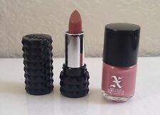 Kat Von D Mini Studded Kiss Lipstick & Nail Polish Set in Lovecraft (Pink Nude)