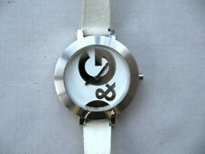 Ladies D&G [Dolce & Gabbana] stainless steel Hoopla.New battery,good condition.