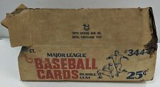 1977 Topps Baseball Cards Cello Case Empty Outer Box Andre Dawson Rookie Year
